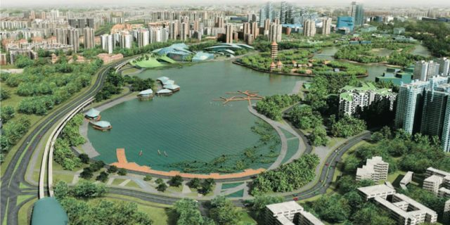 Jurong Lake District, Singapore's Second Central Business District (Source: URA)